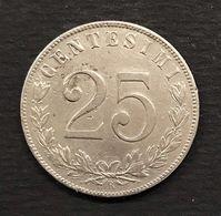 VITTORIO EMANUELE III° 1900-1943 25 Cent 1903 Gig.192 Rara TOP PRICE D.1211 - 1900-1946 : Victor Emmanuel III & Umberto II