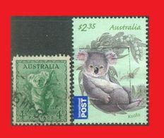 Australie Australia, 1956 & 2011, Koala, Oblit. - Sellos