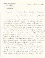 1933 - SEMAILLES & MOISSON Ch. AUBERT - Fraisse 12 LAUSANNE Tél. 26.862 - Svizzera