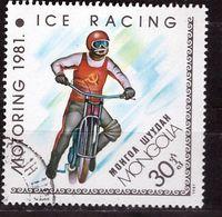 PIA - MONGOLIA - 1981  - Motociclismo - Corsa Su Ghiaccio - (Yv   1099) - Mongolie