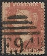 GRANDE BRETAGNE  - Victoria YT 26 - Planche 224 - Cote 75e - Used Stamps