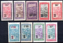 Madagascar: Yvert N° 144/155**; MNH; 9 Valeurs ; Quelques Valeurs Gomme Coloniale - Madagascar (1889-1960)