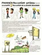 "PUB  CHAUSSURES "" PHOENIX- PALLADIUM "" Par "" Jean TABARY "" 1974 ( 1 ) - Objetos Publicitarios"