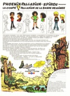 "PUB  CHAUSSURES "" PHOENIX- PALLADIUM "" Par "" Jean TABARY "" 1974 ( 2 ) - Objetos Publicitarios"