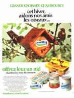 """PUB YAOURTS  """" CHAMBOURCY  """"   1974 ( 1 ) - Advertising"""