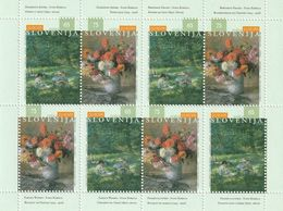 Slovenia EUROPA Paintings Ivana Kobilca Impressionism Small Sheet 1996 MNH** - Slovénie
