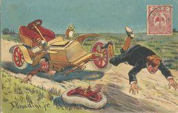 Illustrateur  Donadini    Accident De  Voiture - Unclassified
