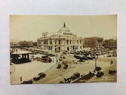 MEXICO - PALACIO  DE BELLAS ARTES -  1935  -  POSTCARD - Messico