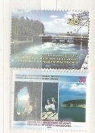 NMK 2020-15 TURISAM, NORTH MACEDONIA. 2v, MNH - Macédoine