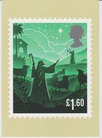 United Kingdom Postcard Mi 4488 Christmas 2019 - Shepherds And Star Of Bethlehem - Grande-Bretagne