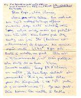 Lettre Manuscrite 1980 Papa Maman Famille Sony Darty Porte D Orleans American Gigolo Place Madeleine Beau Arts Saint - Manuscrits