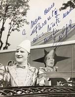 Album Contenant 66 Photos Du Cirque Pinder Dont  Certaines Avec Dédicaces - Célébrités