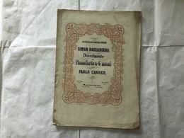 SPARTITO MUSICALE SIMON BOCCANEGRA VERDI PAOLO CARRER PIANOFORTE A 4 MANI. - Partituras