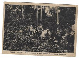 CLA427 - PONTIFICIE OPERE MISSIONARIE MISSIONE ROMA -  CAQUETA' COLUMBIA COMMISSIONE IN VISITA GUIDATA VESCOVO 1937 - Other