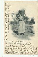 AK ESPANA 1901 - Frauen