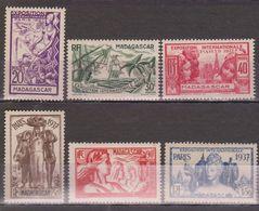Madagascar N° (yt) 193 à 198 Neufs *tc - Madagascar (1889-1960)