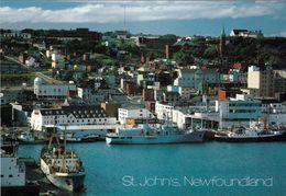 1 AK Kanada Newfoundland * Blick Auf St. John's Die Hauptstadt Von Neufundland Und Labrador * - St. John's