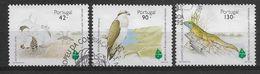 Portugal   1995  Mi.Nr. 2063 / 2065 , Europäisches Naturschutzjahr  - Gestempelt / Used / (o) - Used Stamps