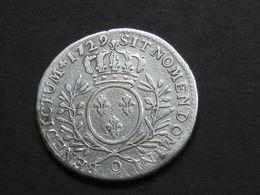 Louis XV  - 1/2 Demi Ecu 1729 O  Aux Branches D'olivier     **** EN ACHAT IMMEDIAT  **** - 987-1789 Royal