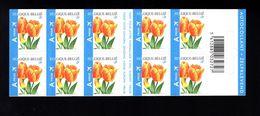 1037215132 SCOTT 2092A POSTFRIS MINT NEVER HINGED EINWANDFREI - BOOKLET FLOWERS DARWINHYBRID TULIPS - Unused Stamps