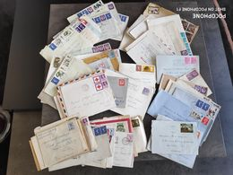 GRANDE BRETAGNE STAMP TIMBRE LOT 100 ENVELOPPES COURRIER ANNEES 60 BEE - Autres