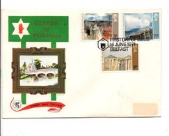 GB FDC 1971 ULSTER PAINTINGS - FDC