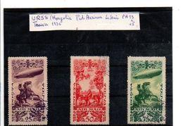 TOUVA TP AERIENS 1936 N°13 à 15 - Tuva