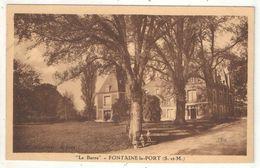 77 - FONTAINE-LE-PORT - La Barre - 1938 - Altri Comuni