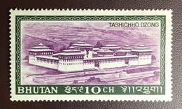 Bhutan 1968 Tashichho Dzong MNH - Bhoutan
