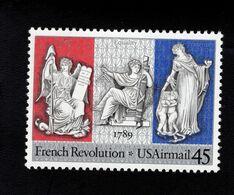 200333521 SCOTT C120 POSTFRIS MINT NEVER HINGED EINWANDFREI - FRENCH REVOLUTION BICENTENNIAL - Air Mail