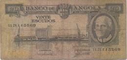 Angola : 20 Escudos 1962 - Angola