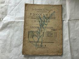 SPARTITO MUSICALE L'AURORA DEL PIANISTA F.BONAMICI. - Partituras