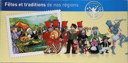 FR. 2011 - Carnet De 12 Timbres Neufs** C566 Autocollants à Validité Permanente - Fêtes Et Tradition De Nos Régions -TBE - Booklets