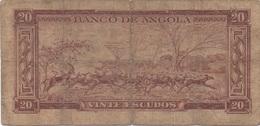 Angola : 100 Escudos 1962 - Angola