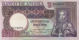 Angola : 500 Escudos 1973 - Angola