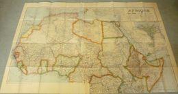 Carte TARIDE : AFRIQUE Nord - 1920/30. - Mapas Geográficas