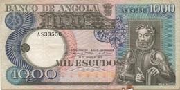 Angola : 1000 Escudos 1973 - Angola