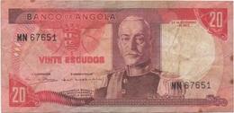 Angola : 20 Escudos 1972 - Angola