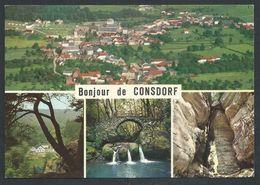 +++ CPSM - Luxemburg - Luxembourg - Bonjour De CONSDORF - Multivues - Echternach  // - Echternach