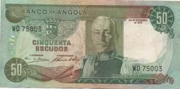 Angola : 50 Escudos 1972 - Angola