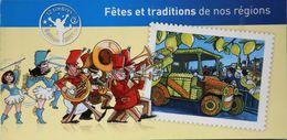 FR. 2011 - Carnet De 12 Timbres Neufs**C578  Autocollants à Validité Permanente - Fêtes Et Tradition De Nos Régions -TBE - Booklets