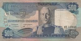 Angola : 500 Escudos 1972 - Angola