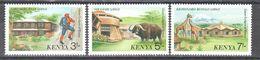 Kenya - Game Lodges - Buffalo - Giraf - Hunting - MNH - Stamps