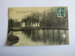 13. Environs De CONCHES (Eure) - Château De Quesney - La Pièce D'eau - Conches-en-Ouche