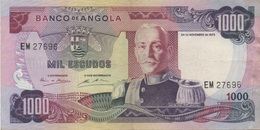 Angola : 1000 Escudos 1972 - Angola
