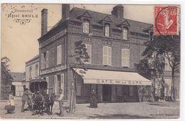 Eure-et-Loir - Bonneval - Hôtel Brulé - Bonneval