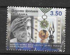 Sri Lanka 2002 Lester James Peiris Rs3.50 Used Stamp SG1571 - Sri Lanka (Ceylan) (1948-...)