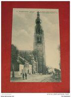 HOOGSTRATEN - HOOGSTRAETEN  -    Zicht Op De Plaats, Kerk En Stadhuis - Hoogstraten