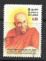 Sri Lanka 2002 Most Ven. Madihe Pangnasiha Maha Nayaka Thero Rs4.50 Used Stamp SG1583 - Sri Lanka (Ceylan) (1948-...)