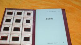 LE LIVRE D'IMAGES DU MONDE 15../ SUEDE AVEC 36 DIAPOSITIVES..BIBLIOVISION RENCONTRE LAUSANNE../ ANNEE 1965 - Diapositivas